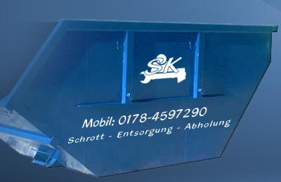 Schrottcontainer